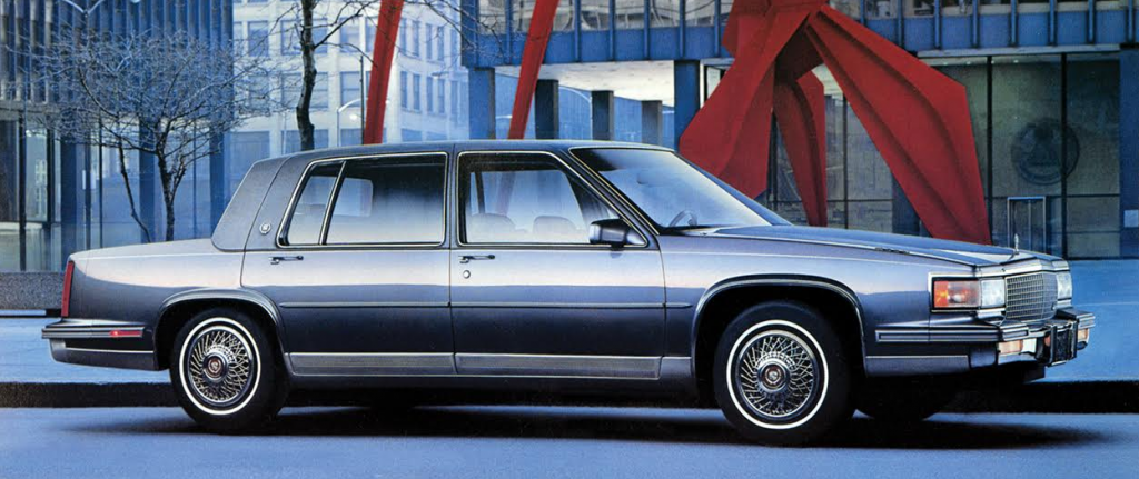 1987-88 Cadillac Fleetwood Sixty Special