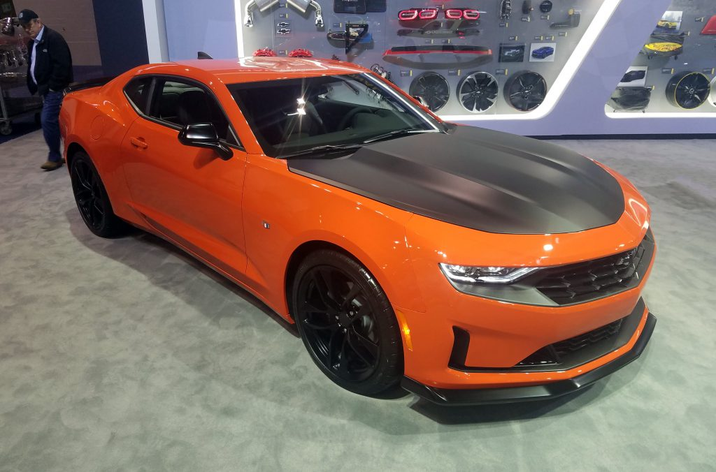 2017 Camaro Colors >> Local Color: Unusual Paint Hues at the 2019 Chicago Auto