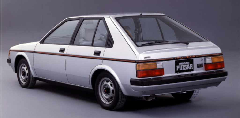 1983 Nissan Pulsar 5-Door Hatchback