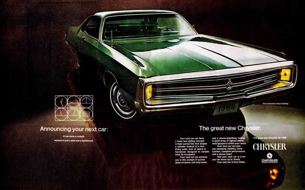 1969 Chrysler Ad