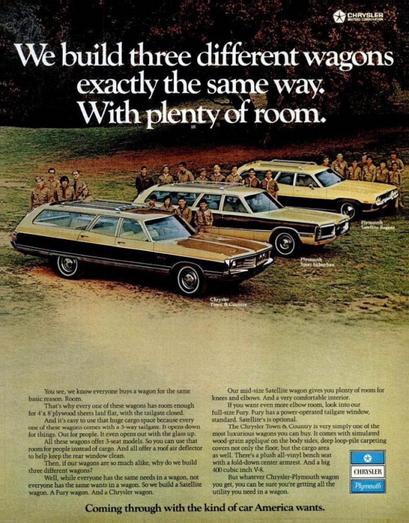 1972 Chrysler Wagon Ad