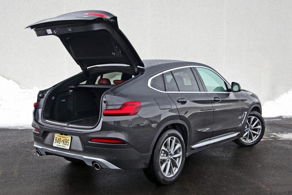 2019 BMW X4 in Dark Graphite