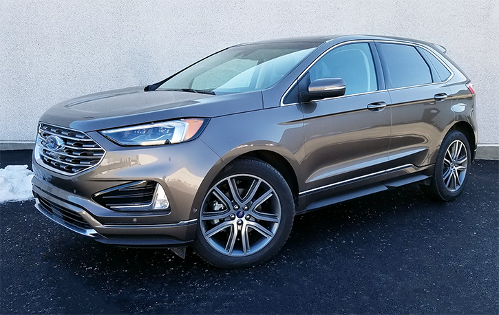 test drive 2019 ford edge titanium the daily drive consumer guide the daily drive. Black Bedroom Furniture Sets. Home Design Ideas