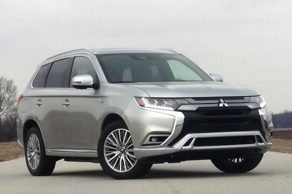 2019 Mitsubishi Outlander PHEV Plug-In Hybrid The Daily Drive