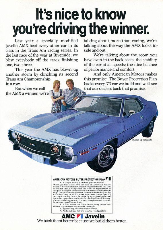 1973 AMC Javelin Ad