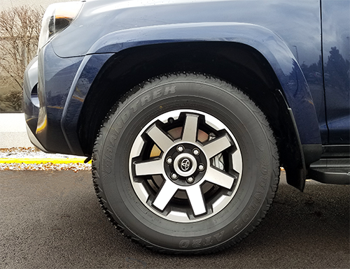 2019 Toyota 4Runner TRD Off-Road Premium Wheel
