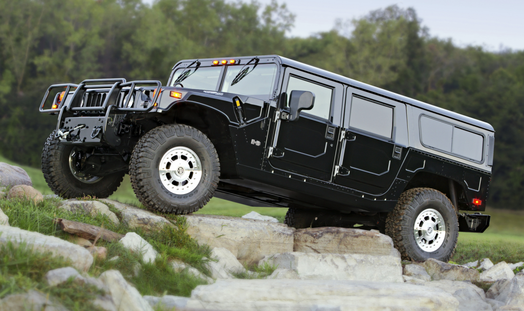 Review Flashback: 2001 Hummer H1 | The Daily Drive ...