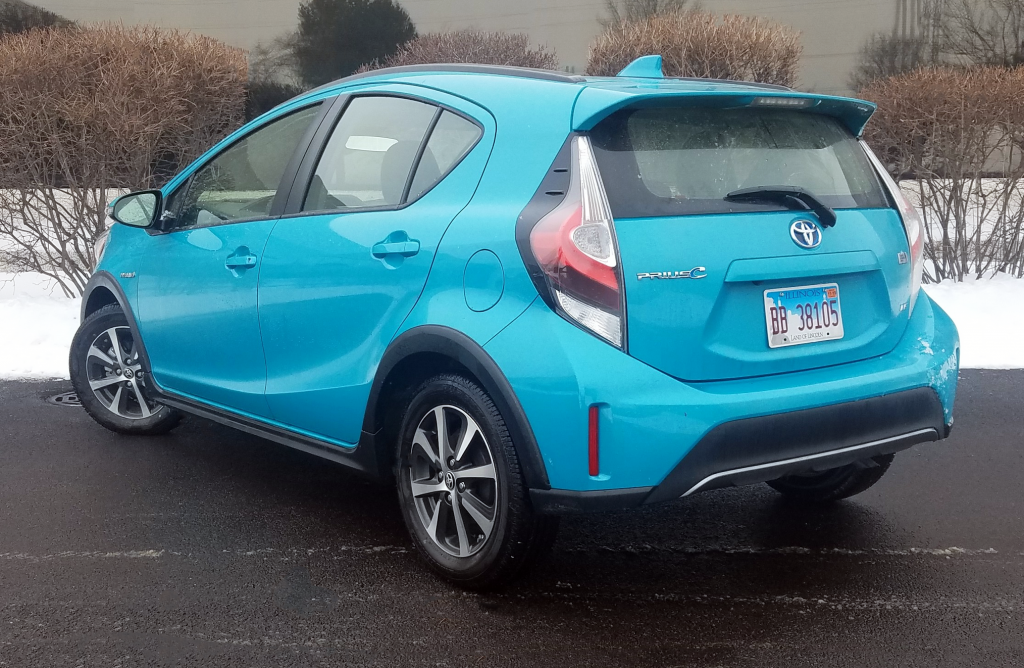 2019 Toyota Prius c LE in Tide Pool Pearl