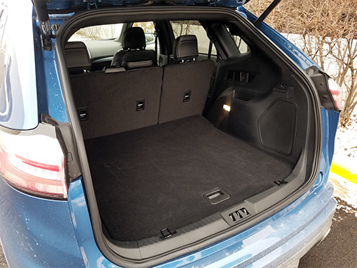 Ford Edge ST Cargo Area