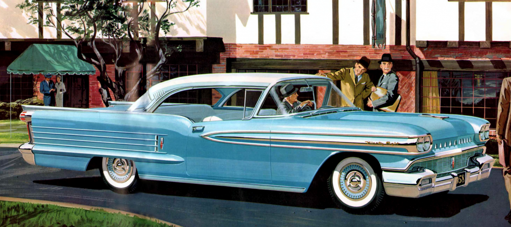 1958 Oldsmobile Ninety-Eight Holiday Coupe