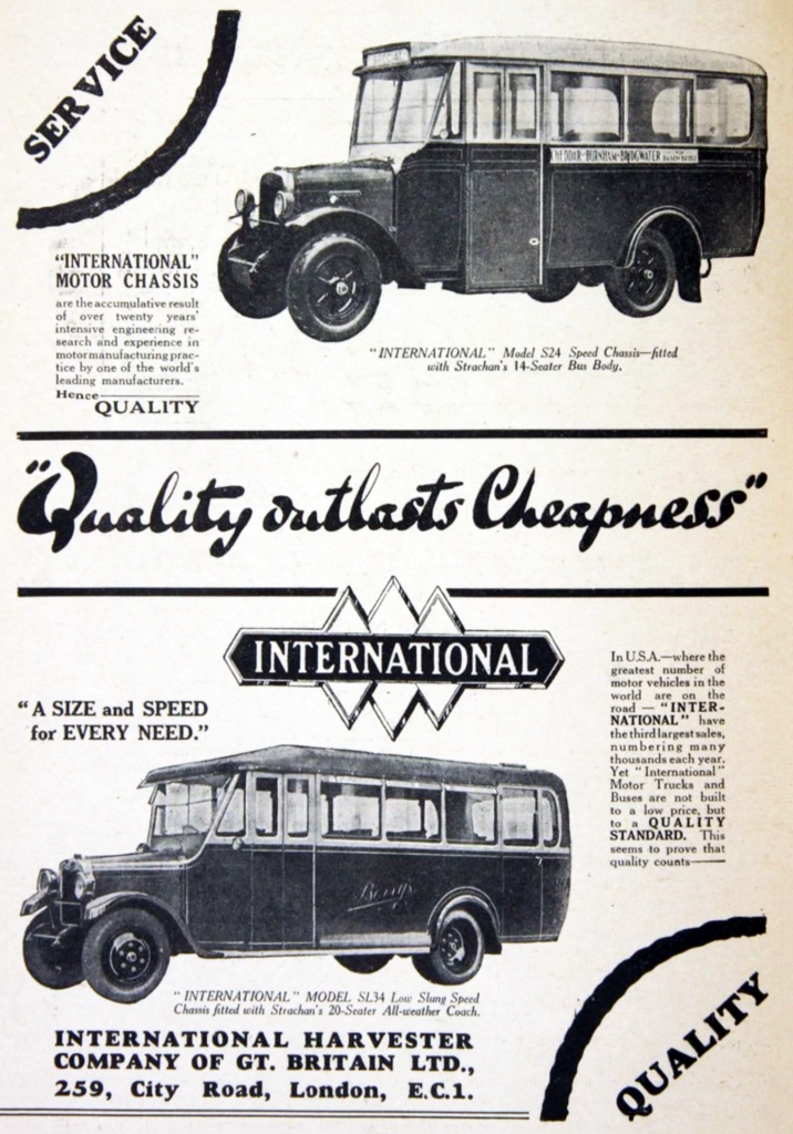 1930 International Ad