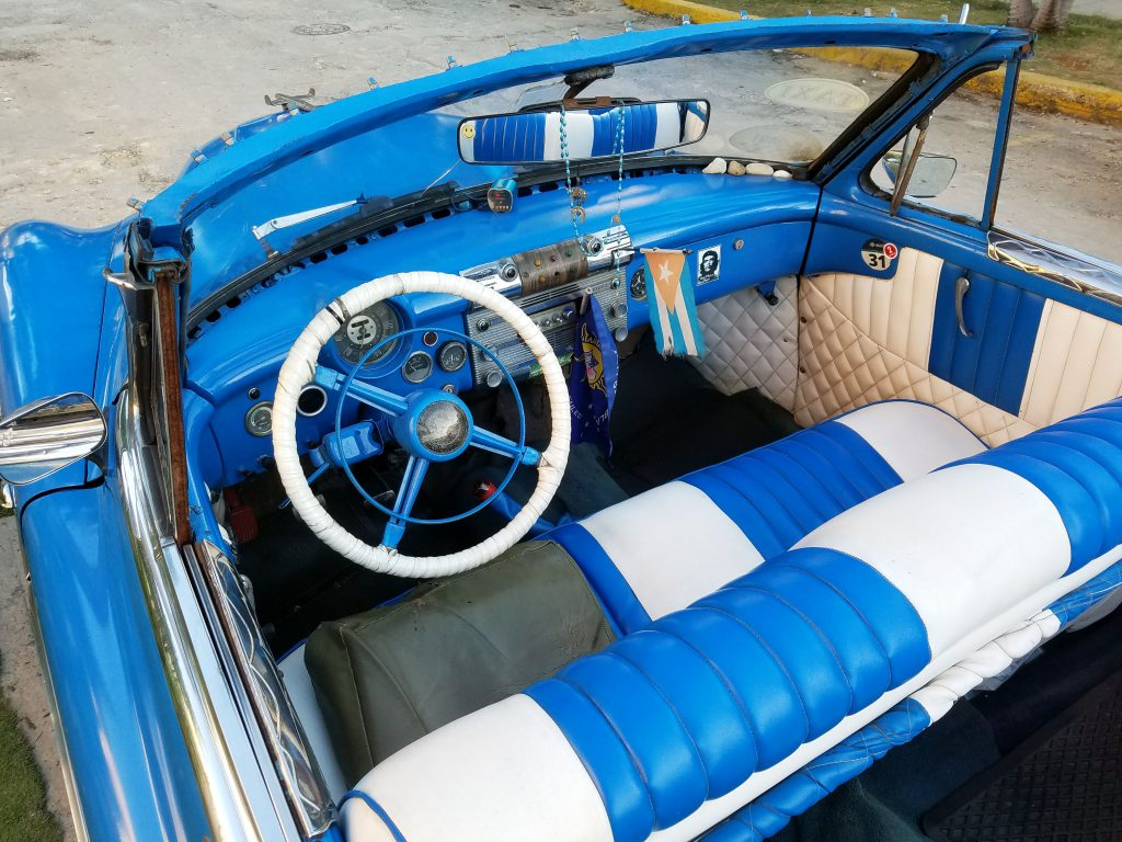 1951 Buick Convertible, Cuba Conversion, Interior