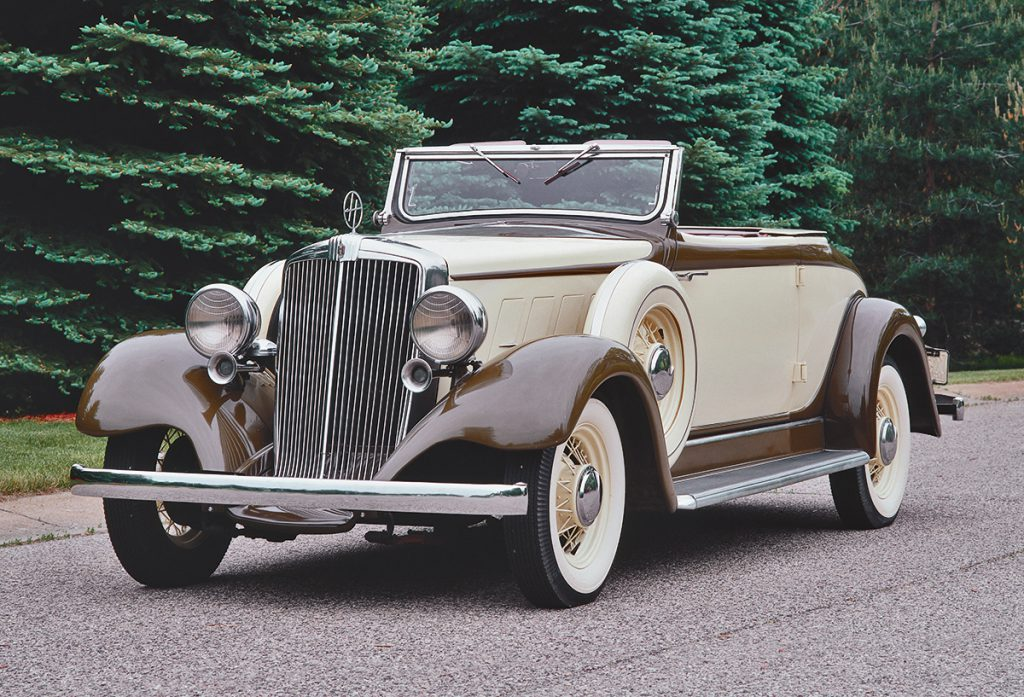 1933 Hupmobile K-321 Convertible Coupe