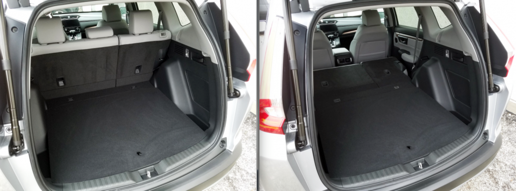 Honda CR-V Cargo Area