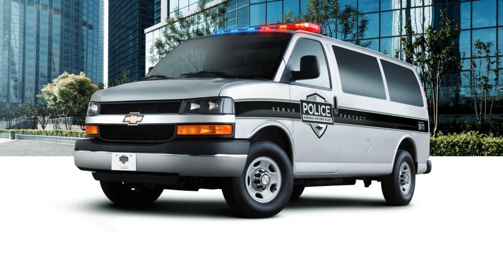 2019 Chevrolet Express Police Van