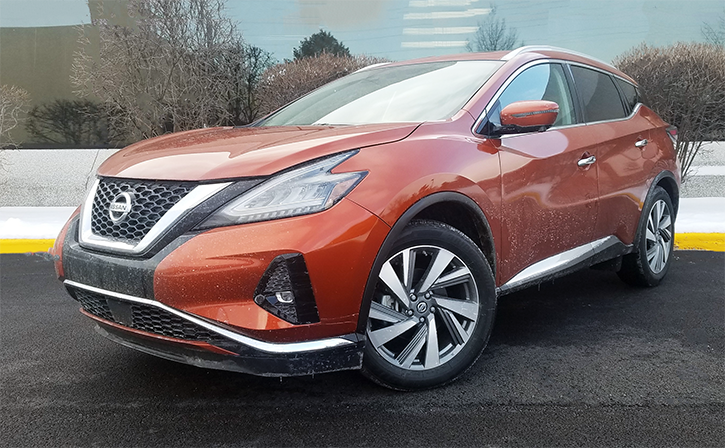 2019 Nissan Murano SL in Sunset Drift