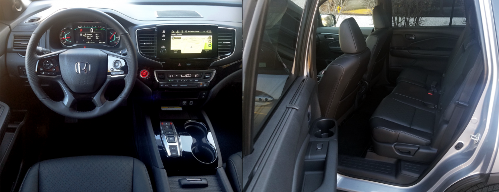 2019 Honda Passport Elite interior
