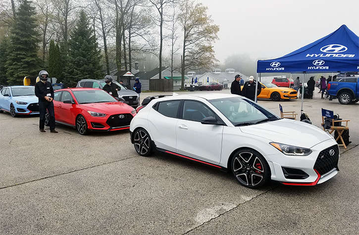 Hyundai at the 2019 MAMA Spring Rally