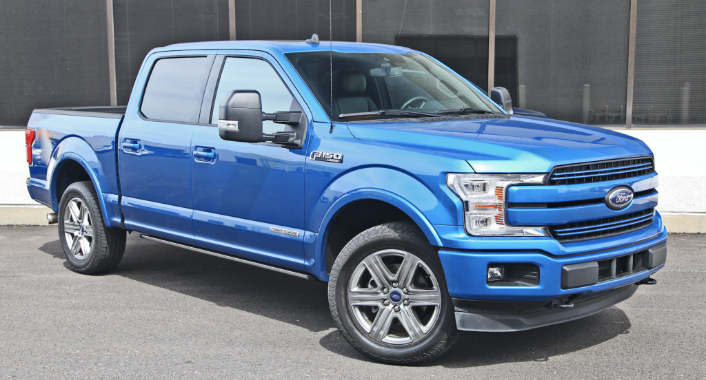 2019 Ford F-150 Lariat Crew Cab 4WD PowerStroke
