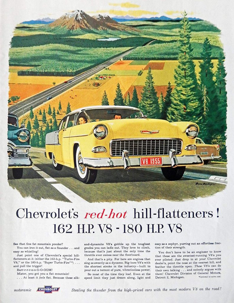 1955 Chevy Ad