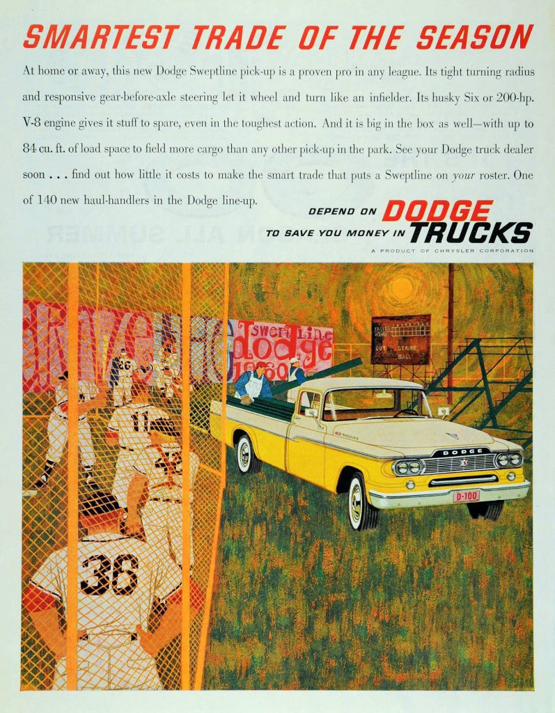 1960 Dodge Trucks ad