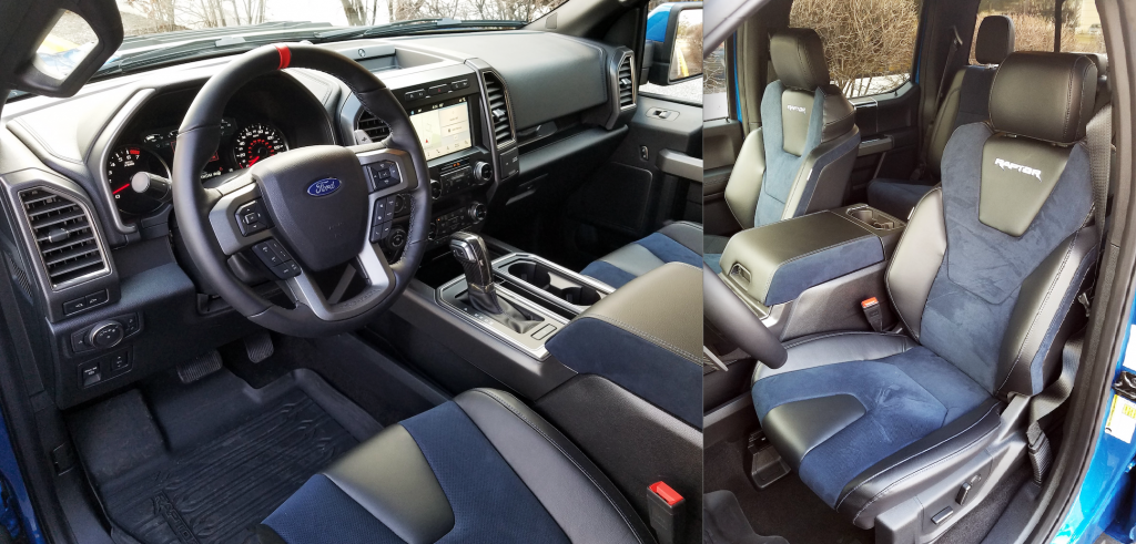 Raptor Blue Interior Package