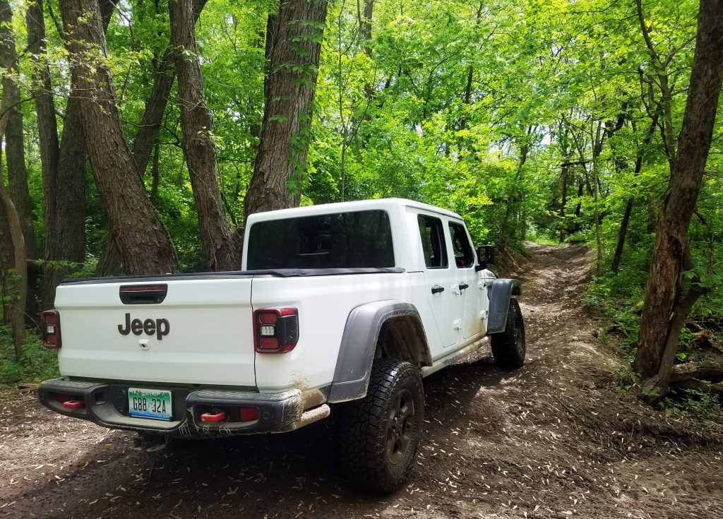 2020 Jeep Gladiator, Badlands Off-Road Park, Off-Roading in the Jeep Gladiator