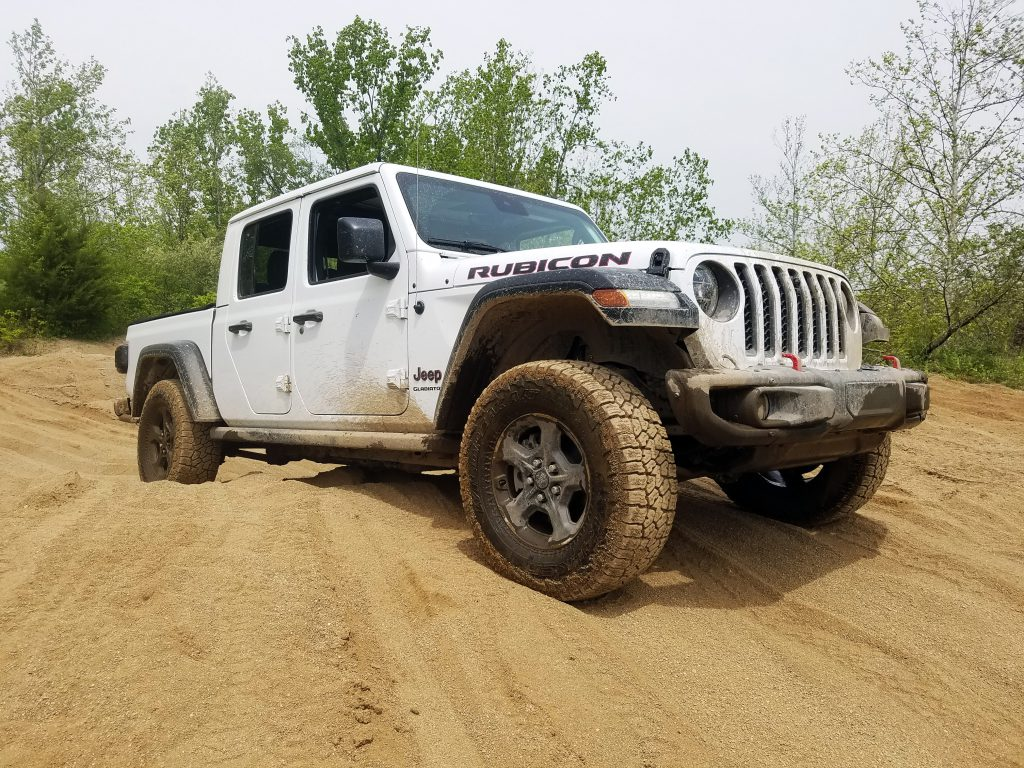 2020 Jeep Gladiator, Badlands Off-Road Park