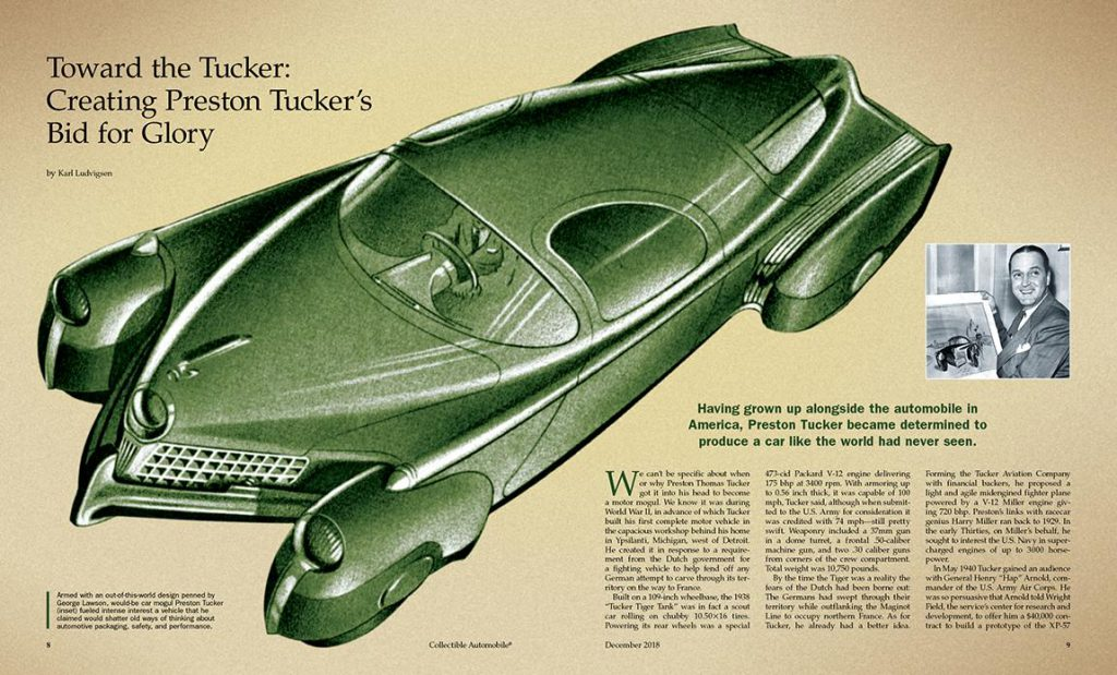 1948 Tucker, Collectible Automobile Tucker Article