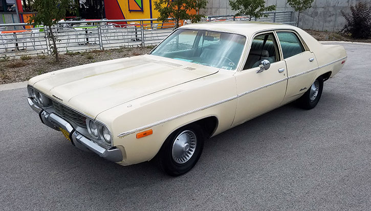 1972 Plymouth Satellite four-door sedan