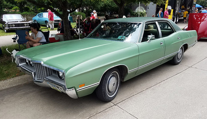 1971 Ford Galaxie four-door sedan
