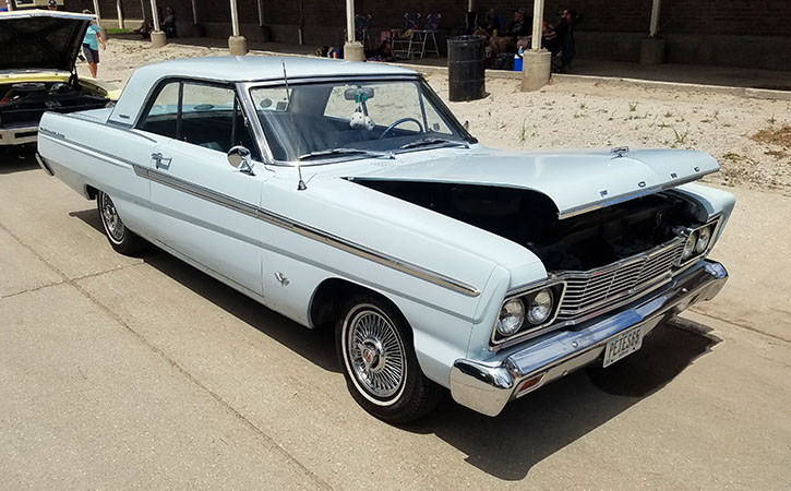 1965 Ford Fairlane two-door hardtop