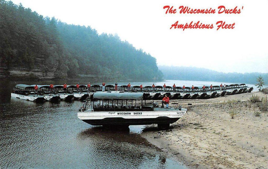 Wisconsin Duck Fleet, Wisconsin Ducks