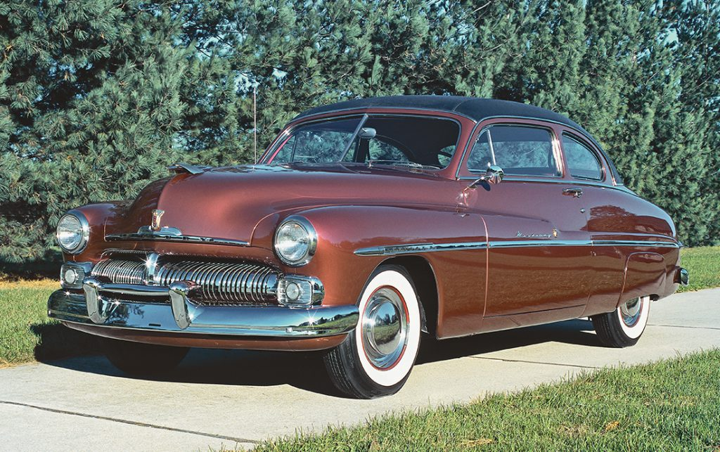 1950 Mercury Monterey Coupe, Cortaro Red