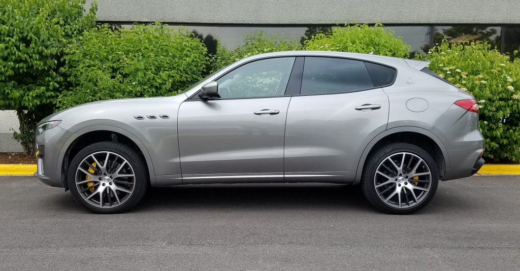 2019 Maserati Levante, Profile Shot