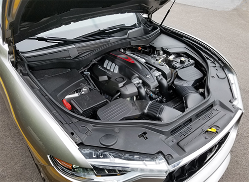 Levante GTS Engine