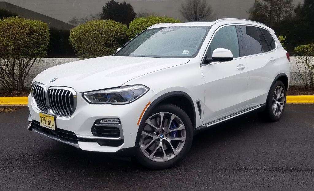 2019 BMW X5 in Mineral White