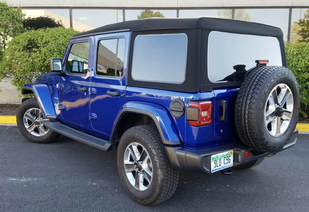 2019 Jeep Wrangler Unlimited Sahara 2.0 Turbo