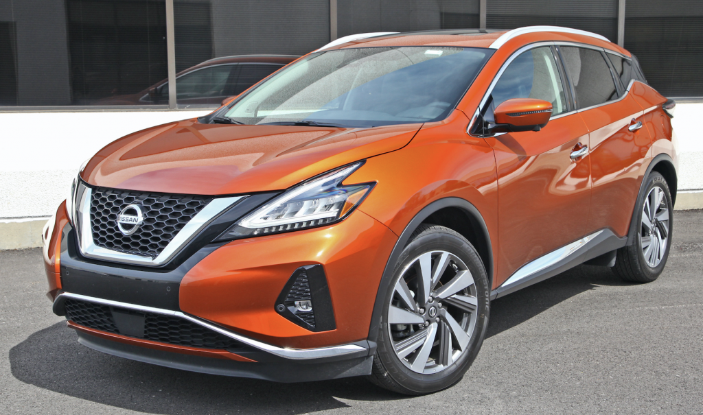 2019 Nissan Murano SL FWD, Nissan Murano Review