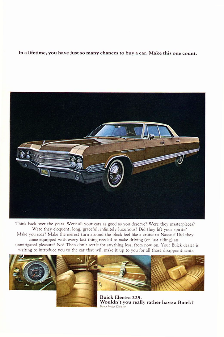 1965 Buick Ad