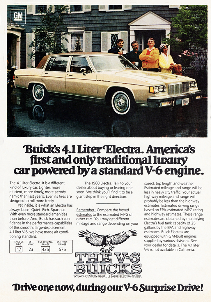 1980 Buick Electra Ad 4.1