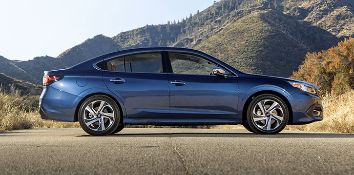 2020 Subaru Legacy in Blue