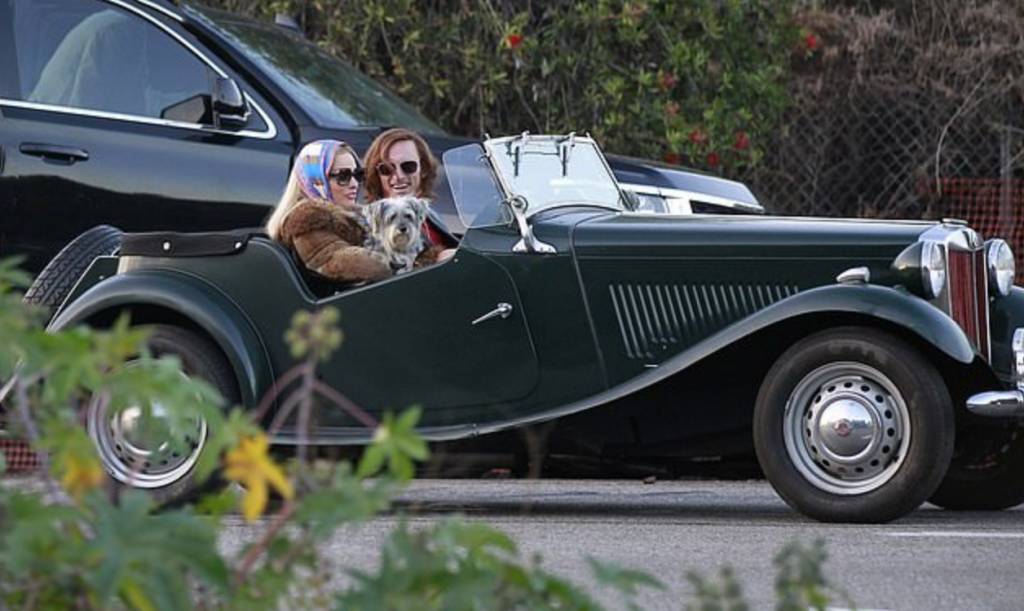 MG TD, The Cars of Once Upon a Time...in Hollywood