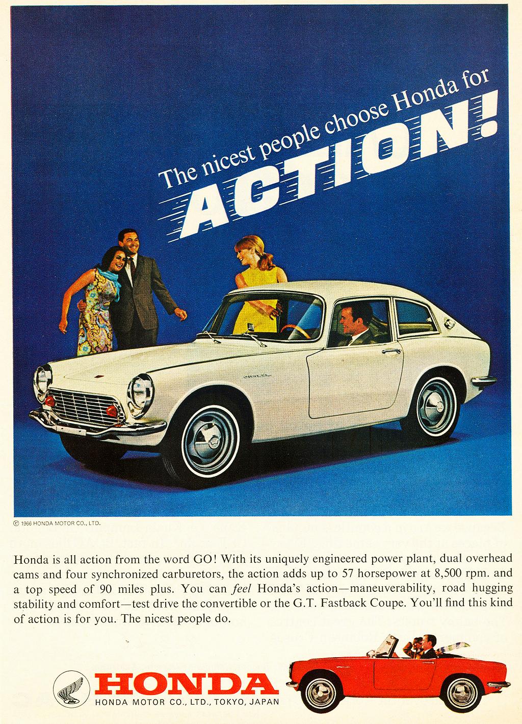 Classic Honda Ads
