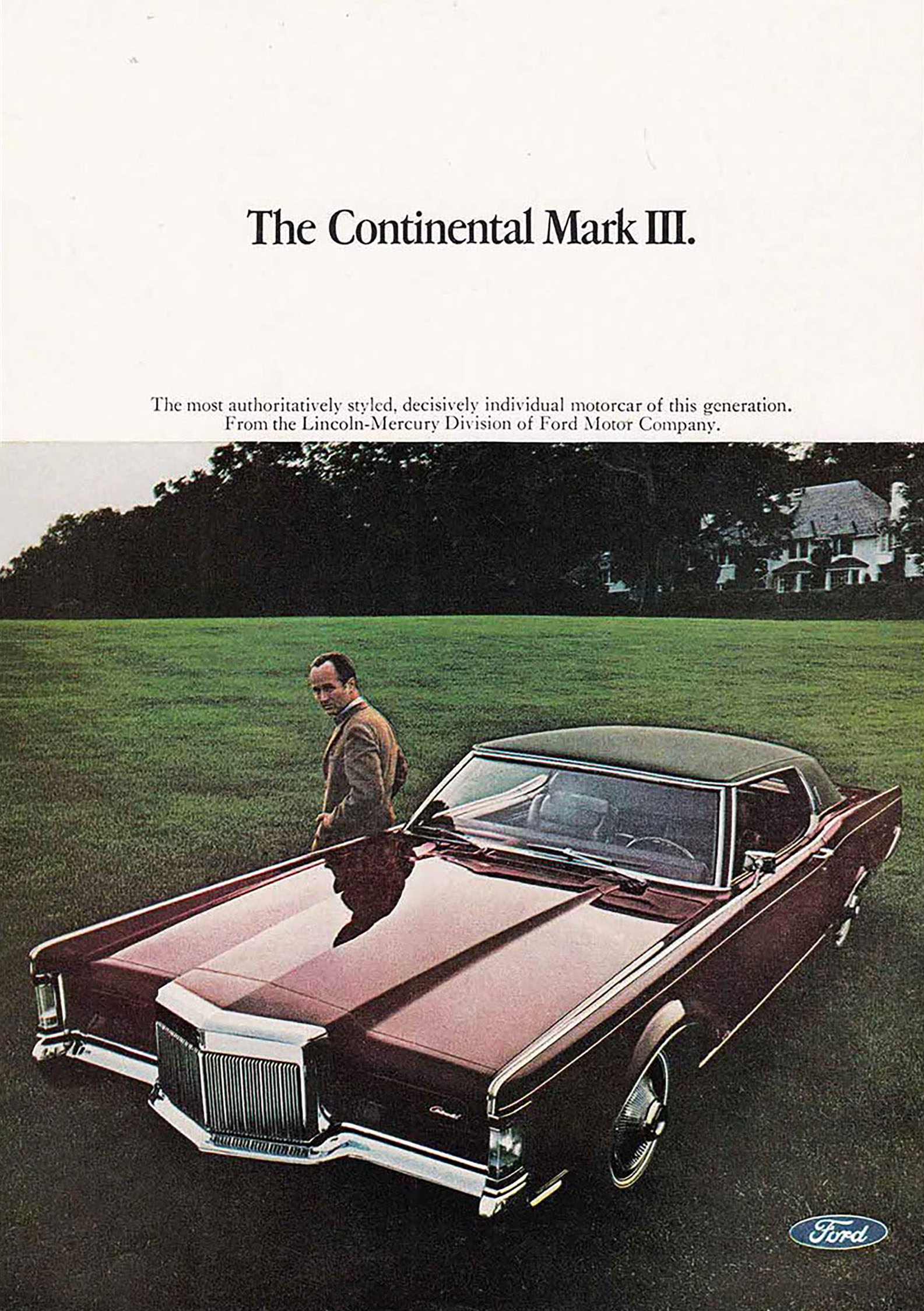 1969 Lincoln Mark III Ad