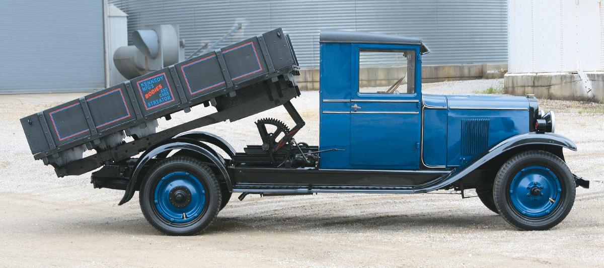 1929 Chevrolet LQ Dump Truck