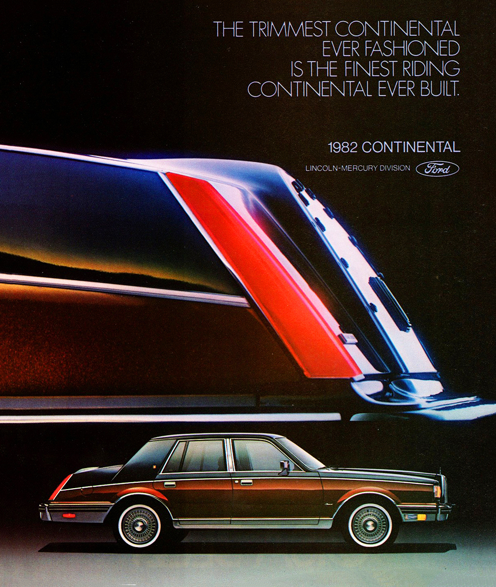1982 Lincoln Continental Ad