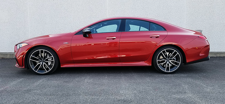 2019 Mercedes-Benz AMG CLS53, Cardinal Red