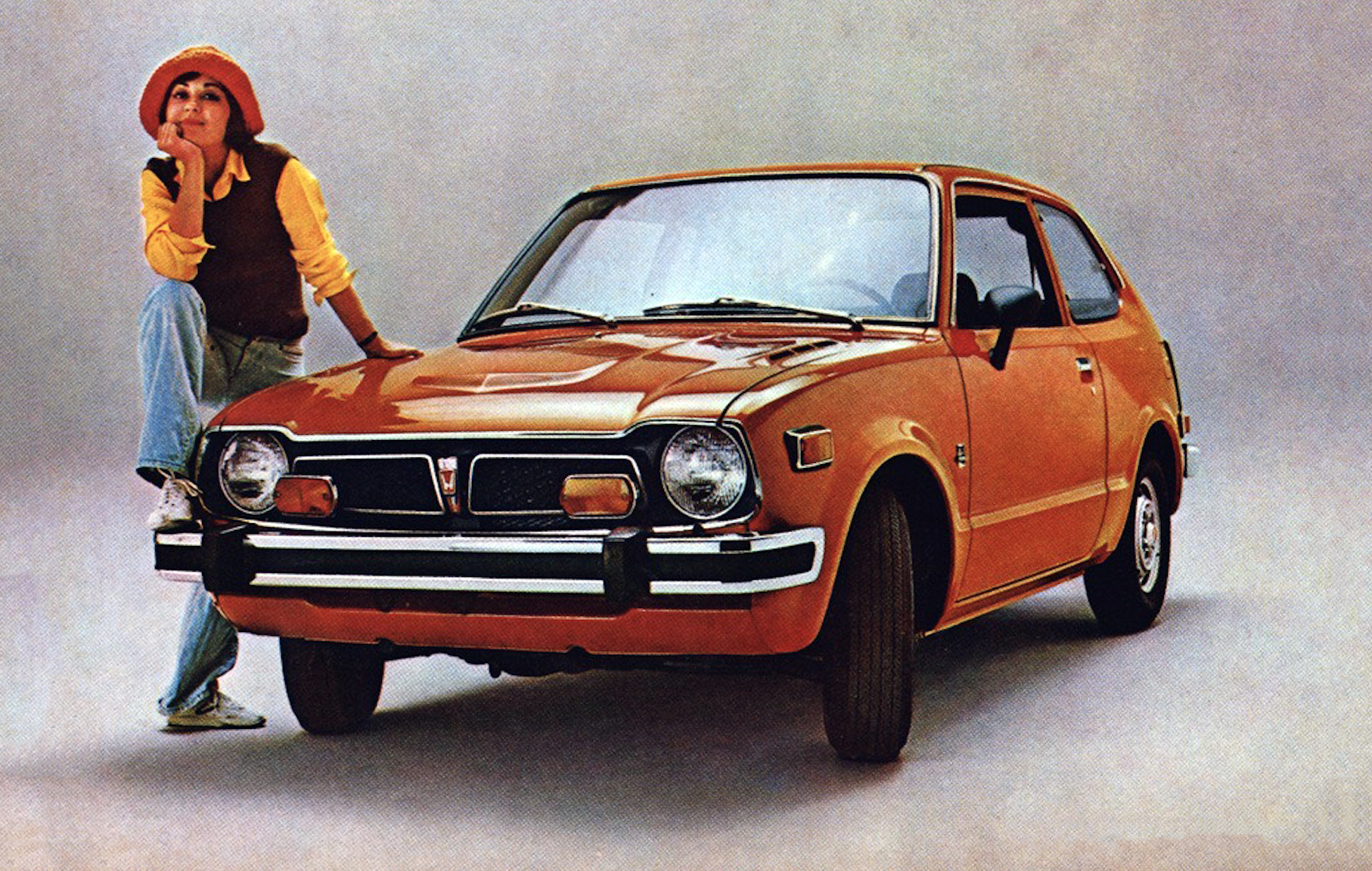1974 Honda Civic