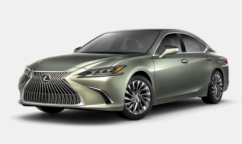 2020 Lexus ES 350 in Sunlit Green